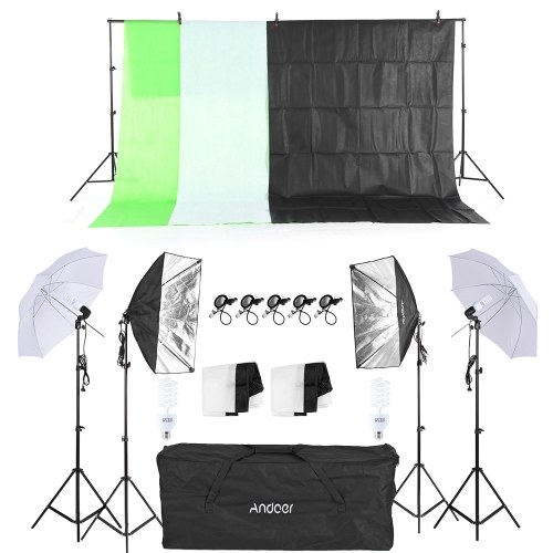 A Series of Andoer Photography Kit