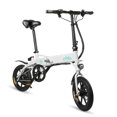 FIIDO D1 14 Inch Folding Power Assist Eletric Bicycle