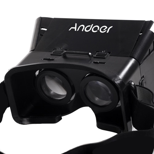 CST-01 Universal 3D Vr Virtual Reality DIY Video Movie Game Glasses for iPhone Samsung 4-6 Mobile Smartphone Google Oculus Rift Head Mount with Headband