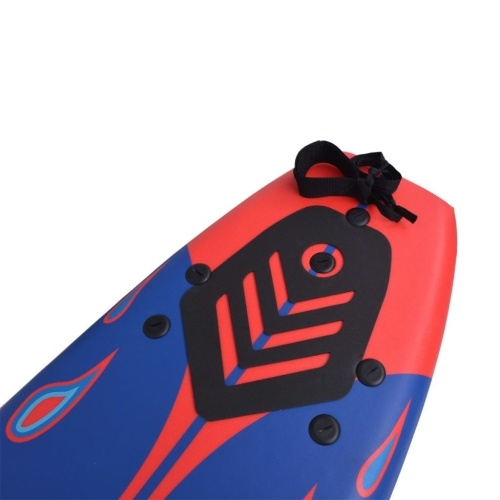 Surfboard blue and red 170 cm