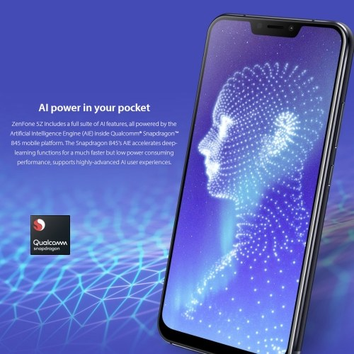 Global Version ASUS ZenFone 5Z ZS620KL 4G Smartphone 6GB+64GB